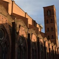 Fianco ovest della Basilica di San Petronio - Ste Bo77 - Bologna (BO)
