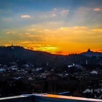 Bologna al tramonto (scattata dalla terrazza di San Petronio) - Angelo nacchio - Bologna (BO)