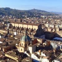 La Basilica di San Petronio dalla Torre degli Asinelli - Clawsb - Bologna (BO)