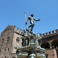 Vista sulla fontana del Nettuno - Giusy Catone - Bologna (BO)