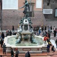Fontana dal Nettuno vista da Palazzo Re Enzo - Monymar71 - Bologna (BO)