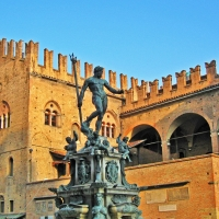 BO - Fontana del Nettuno e Palazzo Re Enzo 3 - EvelinaRibarova - Bologna (BO)