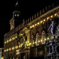 Tutte le luci accese per il Nettuno - Angelo nacchio - Bologna (BO)