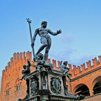 BO - Fontana del Nettuno e Palazzo Re Enzo 2 - EvelinaRibarova - Bologna (BO)