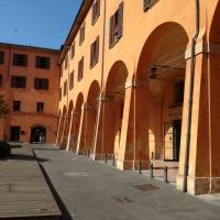 BO - Portici del Cortile di Palazzo Comunale 05 - ElaBart - Bologna (BO)