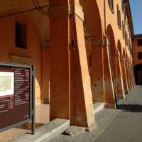 BO - Portici del Cortile di Palazzo Comunale 01 - ElaBart - Bologna (BO)
