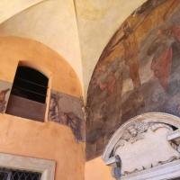 BO - Portici del Cortile di Palazzo Comunale 03 - Dettaglio Affreschi - ElaBart - Bologna (BO)