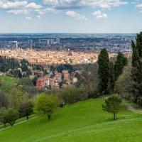 Panoramica da Villa Ghigi sul centro storico di Bologna - Ugeorge - Bologna (BO)