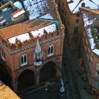 BO - Piazza della Mercanzia vista dalla Torre degli Asinelli - EvelinaRibarova - Bologna (BO)