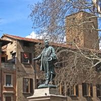 BO - Piazza Minghetti con il Monumento Minghetti (1) - EvelinaRibarova - Bologna (BO)