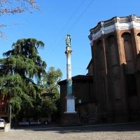 Statua Piazza S.Domenico - LunaLinda - Bologna (BO)