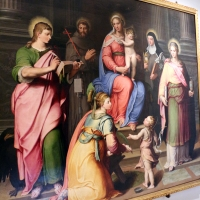 Il bagnacavallo junior, madonna in trono e santi, 1550 ca., dai s. narborre e felice, 01 - Sailko - Bologna (BO)