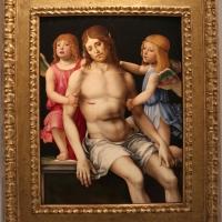Francesco francia, cristo in pietà tra due angeli, 1490 ca., da s.m. della misericordia, 01 - Sailko - Bologna (BO)