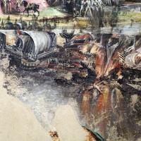 Niccolò dell'abate, affreschi dell'orlando furioso, da palazzo torfanini 09 battaglia 3 - Sailko - Bologna (BO)