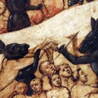 Maestro dell'avicenna, paradiso e inferno, 1435 ca. (bo) 09 - Sailko - Bologna (BO)