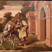 Girolamo marchesi detto il cotignola, predella da s. giuseppe dei cappuccini, 1522-24, fuga in egitto - Sailko - Bologna (BO)