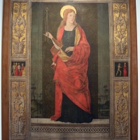 Maestro di ambrogio saraceno, santa apollonia, 1488-90, da s. giuseppe (bo) - Sailko - Bologna (BO)