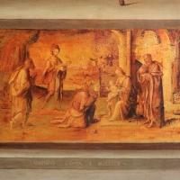 Lorenzo costa, san petronio tra i ss. francesco e domenico, 1502, 05 adorazione dei magi, firma - Sailko - Bologna (BO)