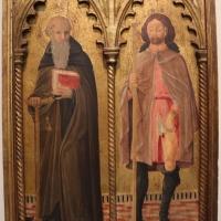 Cristoforo di benedetto, frammenti di polittico coi ss. antonio abate e rocco, 1467, da s. prospero - Sailko - Bologna (BO)
