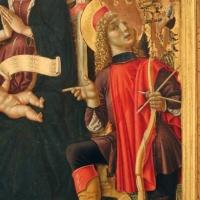 L'alunno, madonna in trono e santi con annunciazione, 04 - Sailko - Bologna (BO)
