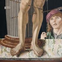 Antonio di bartolomeo maineri, san sebastiano alla colonna, 1492, 02 - Sailko - Bologna (BO)