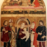 Maestro della pala dei muratori, pala dei muratori, 1476 ca., da arte dei muratori, 01 - Sailko - Bologna (BO)