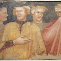 Francesco da rimini, quattro figure in costume laico, 1320-25 ca., da refettorio vecchio di s. francesco - Sailko - Bologna (BO)