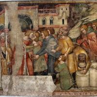 Anonimo bolognese, storie di giuseppe ebreo, 1330-75 ca., 10 riconciliazione coi fratelli - Sailko - Bologna (BO)