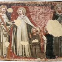 Pittore bolognese, visione di s. domenico, 1355-60 ca., da s.m. maddalena - Sailko - Bologna (BO)