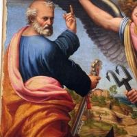 Innocenzo da imola, madonna in gloria e tre santi, 1517-22, da s. michele in bosco 04 - Sailko - Bologna (BO)