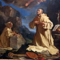 Guercino, san bruno in adorazione della madonna in gloria, 1647, da s. girolamo della certosa 03 - Sailko - Bologna (BO)