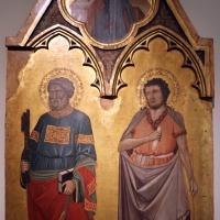 Jacopo di paolo, crocifissione, annunciazione e santi, 1400-10 ca., da s. michele in bosco 04 - Sailko - Bologna (BO)