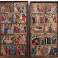 Maestro di san nicolò degli albari, storie di cristo e santi, 1320 ca. 01 - Sailko - Bologna (BO)