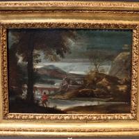 Annibale carracci, paesaggio fluviale con cacciatore, 1600 ca - Sailko - Bologna (BO)