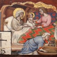 Simone dei crocifissi, sette episodi della vita di maria1396-98 ca, da polittico cospi in s. petronio 02 - Sailko - Bologna (BO)
