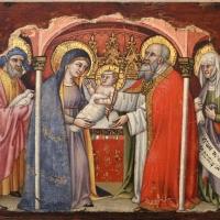 Simone dei crocifissi, sette episodi della vita di maria1396-98 ca, da polittico cospi in s. petronio 05 - Sailko - Bologna (BO)
