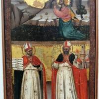 Lippo di dalmasio, orazione nell'orto e i ss. ambrogio e petronio, 1380-90 ca - Sailko - Bologna (BO)