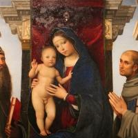 Francesco francia, madonna in trono e santi, 1490 ca., da s.m. della misericordia, 03 - Sailko - Bologna (BO)