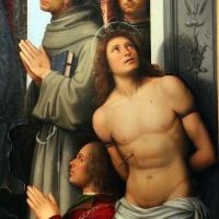 Francesco francia, madonna in trono e santi, 1490 ca., da s.m. della misericordia, 04 - Sailko - Bologna (BO)