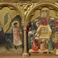 Pseudo jacopino, polittico, 1330-35, da pin. naz.le bologna 03 - Sailko - Bologna (BO)