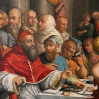 Giorgio vasari, cena in casa di san gregorio magno, 1540, da s. giovanni in bosco, 04 - Sailko - Bologna (BO)