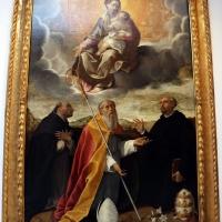 Bartolomeo cesi, madonna in gloria e santi, 1594-95 ca., da s. omobono, 01 - Sailko - Bologna (BO)