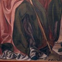 Francesco del cossa, pala dei mercanti, col committente alberto de' cattanei, 1474, 03,3 - Sailko - Bologna (BO)