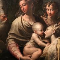 Parmigianino, madonna col bambino e santi, 1529, da s. margherita 04,1 - Sailko - Bologna (BO)