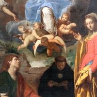 Simone cantarini, madonna in gloria tra santi, 1632-34 ca., 03 - Sailko - Bologna (BO)