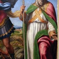 Innocenzo da imola, madonna in gloria e tre santi, 1517-22, da s. michele in bosco 08 - Sailko - Bologna (BO)