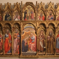 Simone dei crocifissi, polittico dai ss. leonardo e orsola, 1385-90 ca. 01 - Sailko - Bologna (BO)