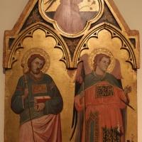 Jacopo di paolo, crocifissione, annunciazione e santi, 1400-10 ca., da s. michele in bosco 02 - Sailko - Bologna (BO)