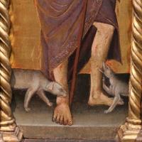 Michele di matteo, polittico da s. pietro martire, 1462, 03 cani - Sailko - Bologna (BO)