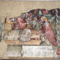 Anonimo bolognese, storie di giuseppe ebreo, 1330-75 ca., 03 giuseppe venduto ai mercanti - Sailko - Bologna (BO)